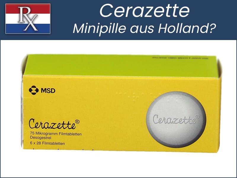 Cerazette Pille aus Holland bestellen Online Rezept