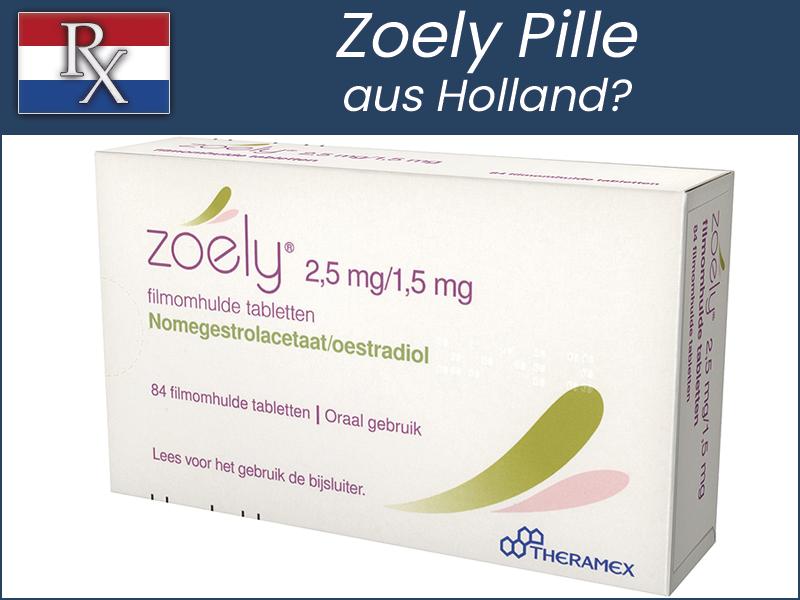 Zoely Pille aus Holland bestellen Online Rezept Service